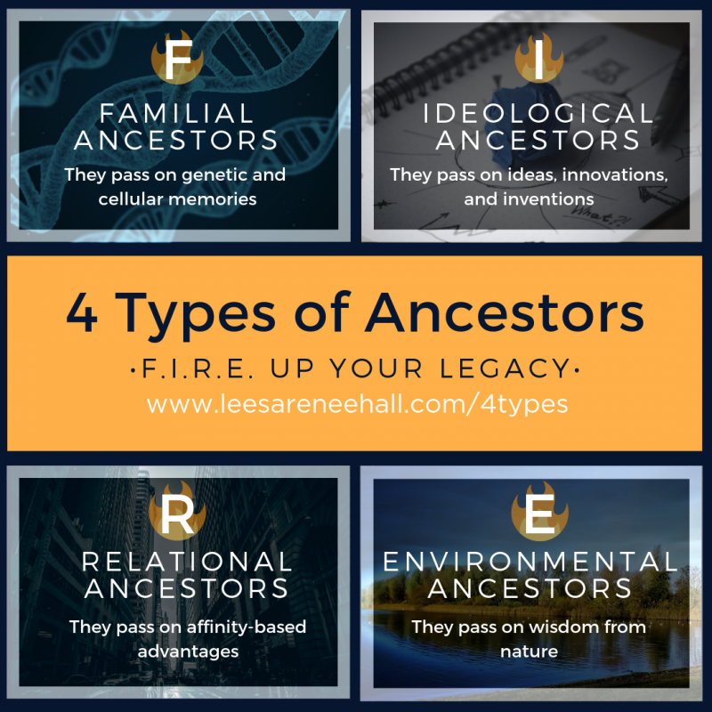 The 4 Types of Ancestors: How to Leave a Legacy Even If You